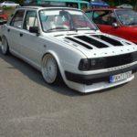 Škoda 120 Jofi tuning, biela