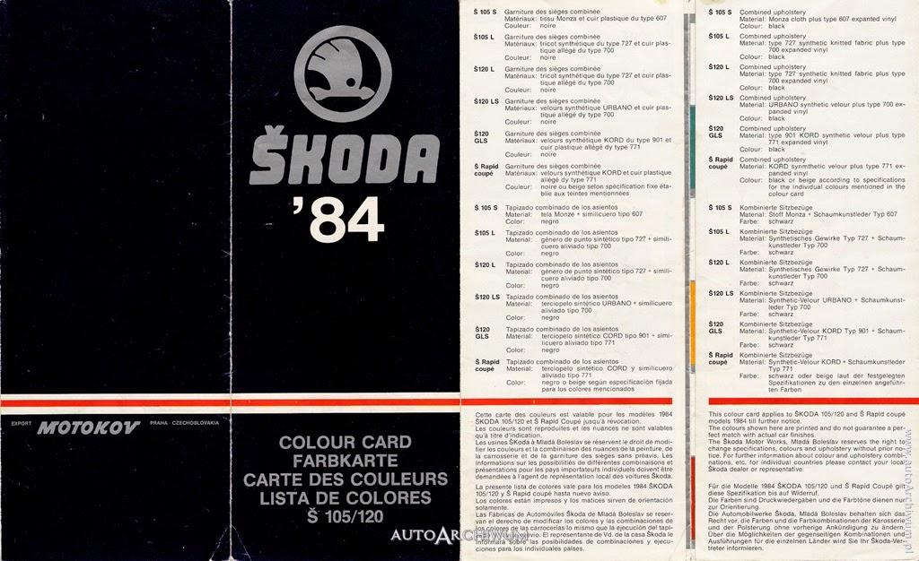 skoda-105-120-130-prospekty-anglicky-nemecky-francuzsky-spanielsky-farby