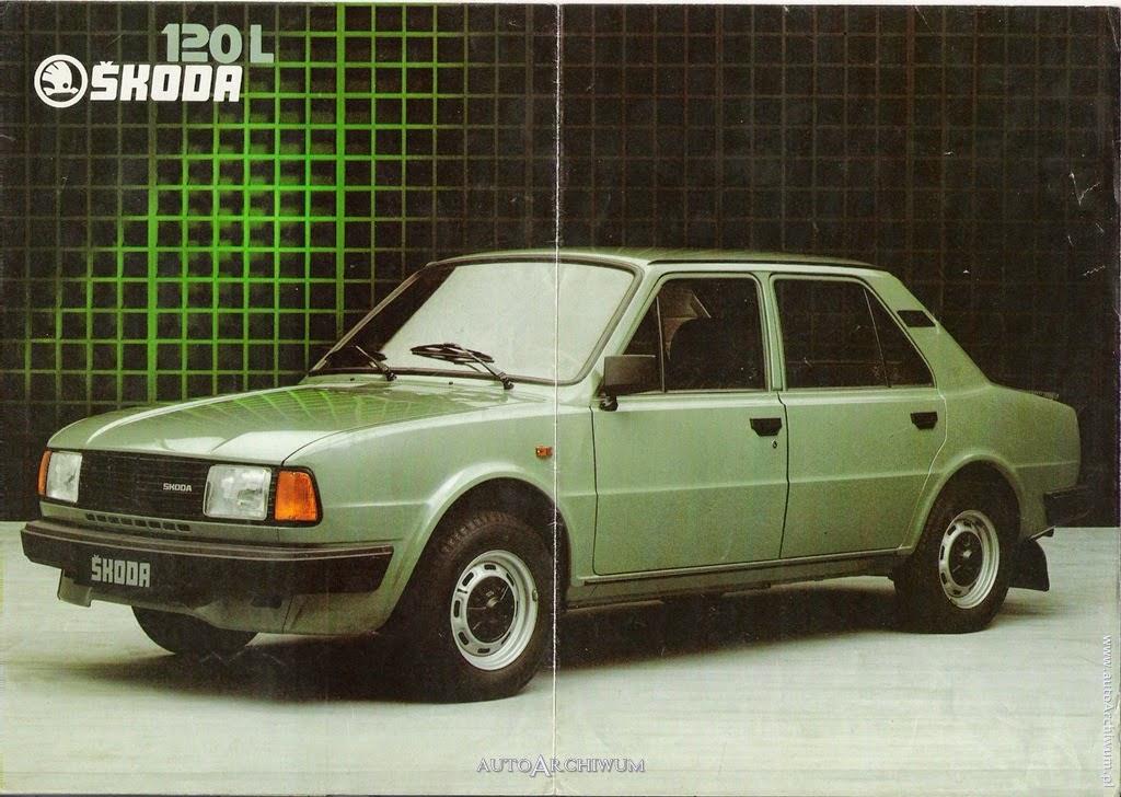 skoda-105-120-130-prospekty-nemecky-plagat-skoda-120-l-zelena