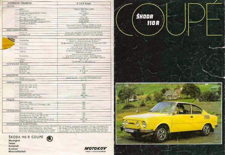 skoda-s-100-prospekty-nemecky-koda-110r-coupe-zlta-1