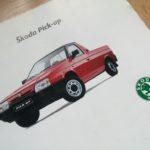 Škoda Favorit Pick-up prospekt