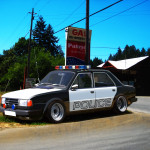 Škoda 125 americká polícia (virtual tuning)